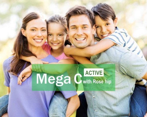 Mega C vit. ACTIVE with Rose Hip